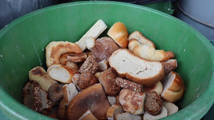 Le pain sec